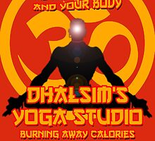 Street Fighter - Dhalsim's Yoga Studio by PKHalford