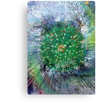 green patch Canvas Print