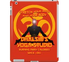 Street Fighter - Dhalsim's Yoga Studio iPad Case/Skin