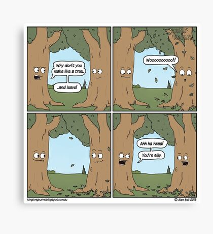 This comic is printed on 100% recycled virtual paper. Save the trees, hug a whale. Canvas Print