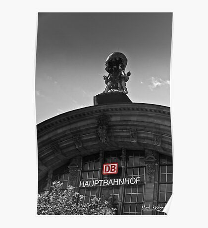 Frankfurt Hauptbahnhof Poster
