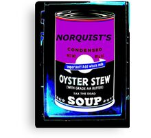 NORQUIST'S SOUP PURPLE - TAX THE DEAD! Canvas Print