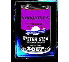 NORQUIST'S SOUP PURPLE - TAX THE DEAD! Photographic Print