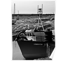 Fishing Boat Poster
