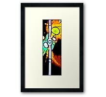 Into Life Framed Print