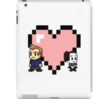 """Love in 8-bit"": Jeff and Annie (style A) iPad Case/Skin"