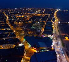 Blackpool Tower, Looking South by Jan Fialkowski