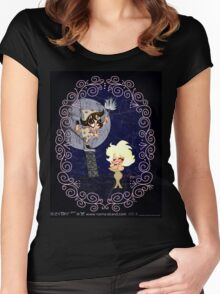 PASSIONELLA. Women's Fitted Scoop T-Shirt