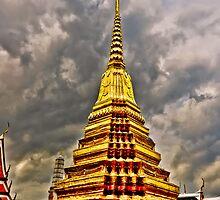 A Temple in Wat Arun by M-A-K