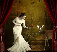 Behind the Curtain... by Karen  Helgesen