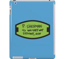 P. Sherman iPad Case/Skin