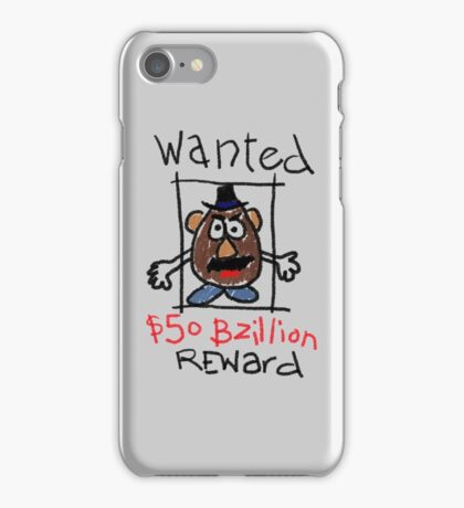 Wanted iPhone Case/Skin