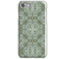 Victorian Golden Leaves #3 iPhone Case/Skin