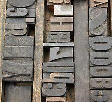 Letterpress, Brooklyn Flea Market by Rachael Mullins