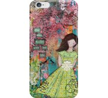 iPhone Case - happy with her life iPhone Case/Skin