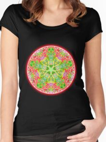 Rosette Women's Fitted Scoop T-Shirt