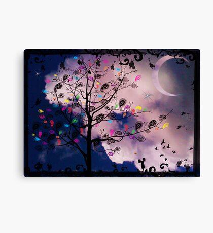 The Paisley Tree Canvas Print