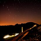 Star Trails over South Holston Dam by Greg Booher