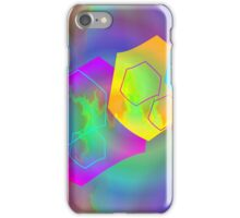 Retro-80s Abstracts Seamless Version iPhone Case/Skin