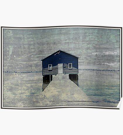 Crawley Boatshed Poster