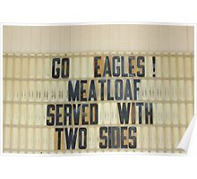 Go Eagles!, Luling, Texas Poster