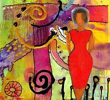 Woman in Red by © Angela L Walker