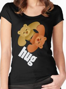 HUG Women's Fitted Scoop T-Shirt