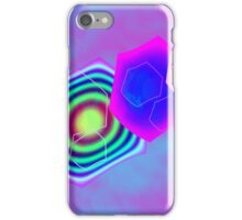 Retro-80s Abstract Alt Palette Seamless Version iPhone Case/Skin
