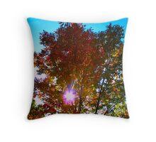 Autumn levity Throw Pillow