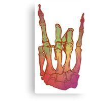Rock on Canvas Print