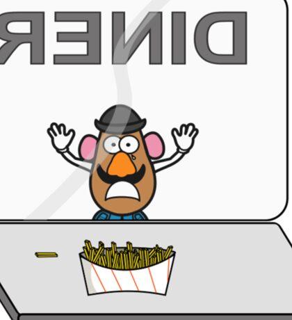 Potato Tragedy Sticker