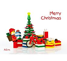 Merry Christmas 2 Photographic Print