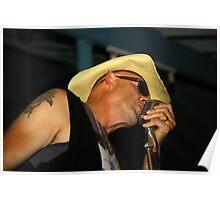 blues man. full tilt boogie, tasmania Poster