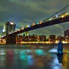 Brooklyn Bridge, NYC by Evelina Kremsdorf