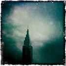 Downtown Downpour by kibishipaul