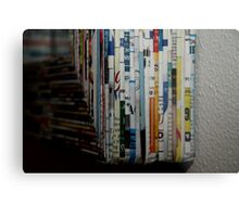 comes in all different languages Metal Print
