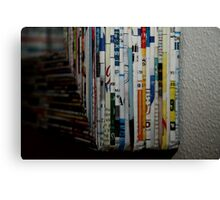 comes in all different languages Canvas Print