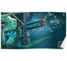 M4A4 | Poseidon Poster