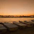 Boats at North Bondi, Sydney by jphenfrey