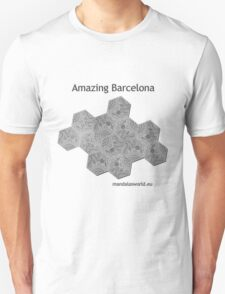 Modernist Gaudi Barcelona Tiles n2 T-Shirt