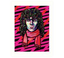 The Extra Tousled and Coiffed Mane of Russell Mael  Art Print