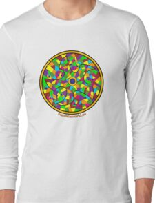 Modernist Art Park Guell n3 Long Sleeve T-Shirt