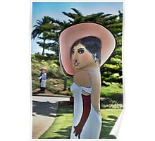 Bride Bollard Poster