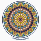 Modernist Art Mandala n1 by Mandala's World