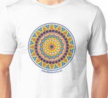 Modernist Art Mandala n1 Unisex T-Shirt