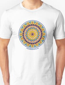 Modernist Art Mandala n1 T-Shirt