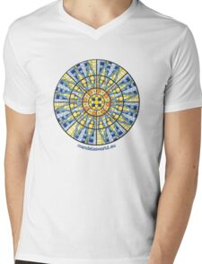 Modernist Art Palau Musica n1 Mens V-Neck T-Shirt
