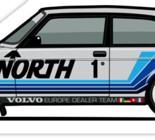 Volvo 240 242 Turbo Group A Homologation Race Car Sticker