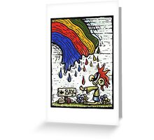 Is this how a dream ends ? Greeting Card