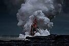 Kilauea Volcano at Kalapana 2a by Alex Preiss
